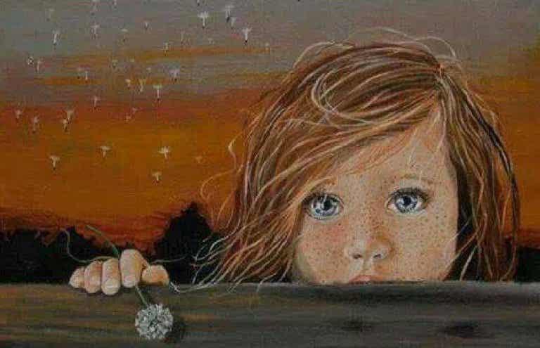 Les larmes d'un enfant sont des balles qui vont droit au cœur (dépression infantile)
