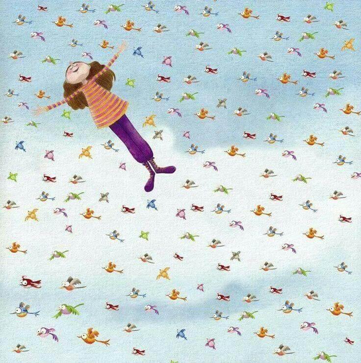 mujer-feliz-volando-con-pajaros