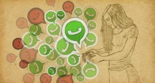 Si je ne réponds pas par Whatsapp, c'est parce que je ne peux pas pas ou que je ne veux pas