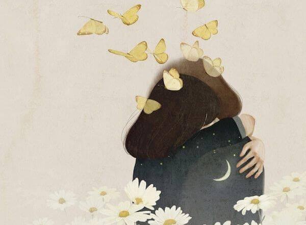 joven-fundida-en-un-abrazo-con-mariposas-en-la-cabeza