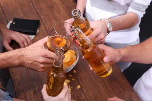 La ligne ténue entre l'alcoolisme et l'habitude
