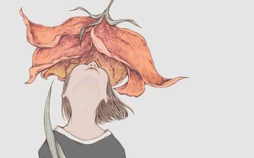 fille-sentant-une-fleur