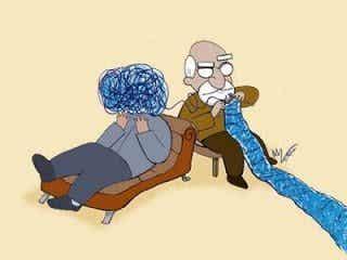Je vais chez le psychologue et je ne suis pas fou