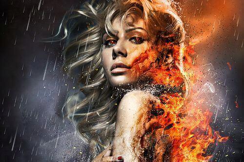 mujer-fuego