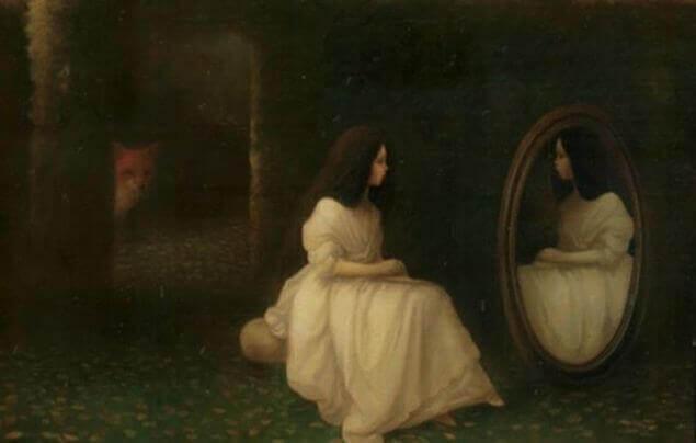 femme-regardant-le-miroir-avortement
