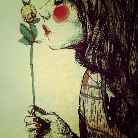 fille-fleur
