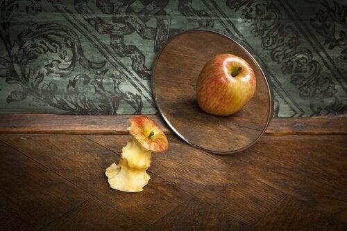 manzana-enganada-por-espejo