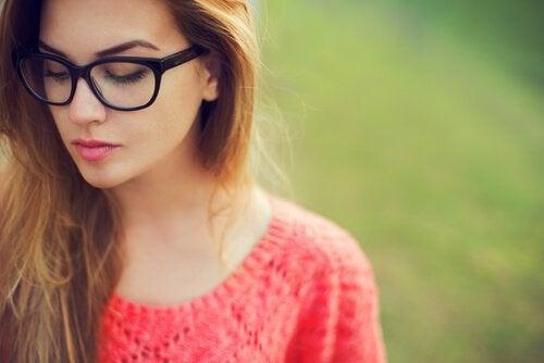 Ne détournez pas le regard pour cacher ce que vous ressentez