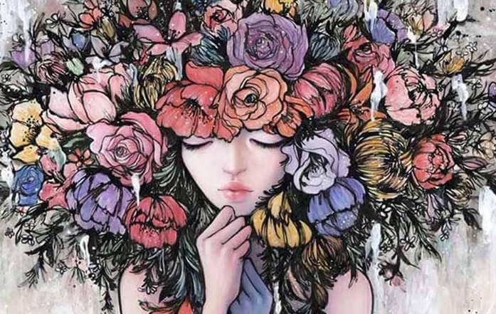 chica-con-flores-en-la-cabeza