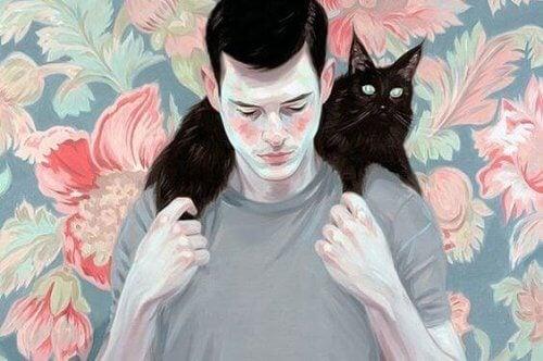 hombre-con-gato