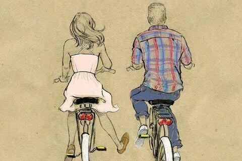pareja-en-bici