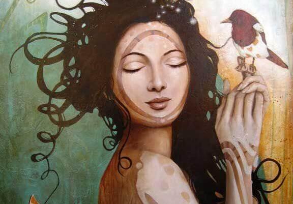 femme-et-oiseaux