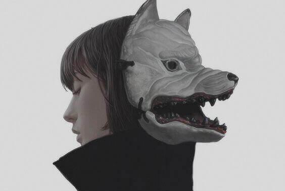 femme-masque-de-loup