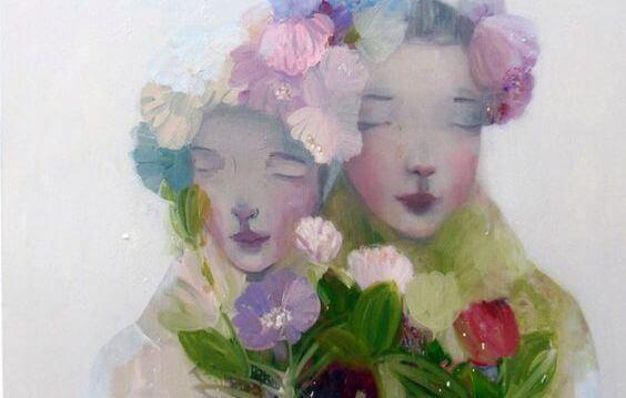femmes-fleurs