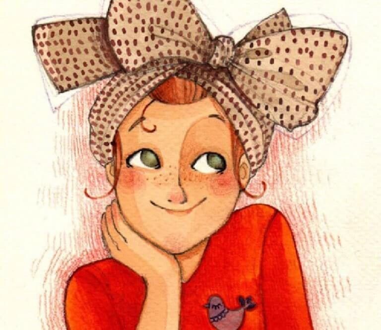 illustration-anne-soline-femme-souriant-768x665