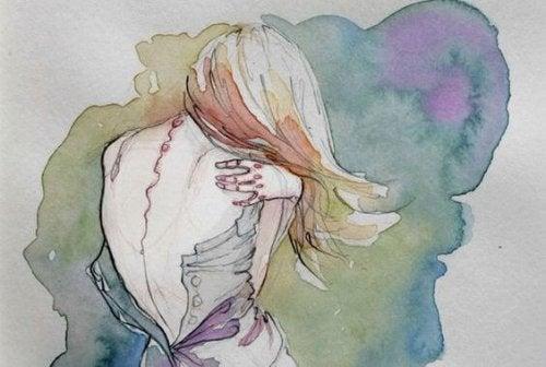 mujer-abrazandose