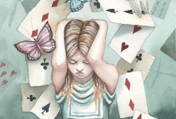 J'ai construit ma vie sur un château de cartes