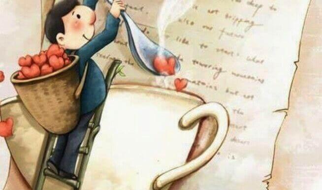 Quelqu'un qui vous aime vous préparera un café