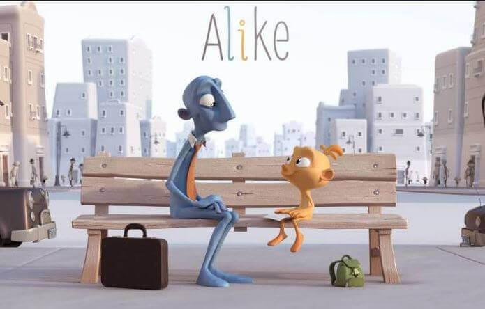 Alike, un court-métrage pour réfléchir à la disparition de la créativité chez les enfants