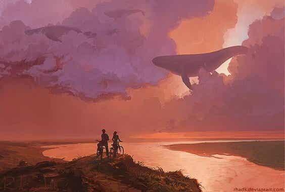 Pour voler haut, la vie ne vous ôte pas de poids, elle vous en libère