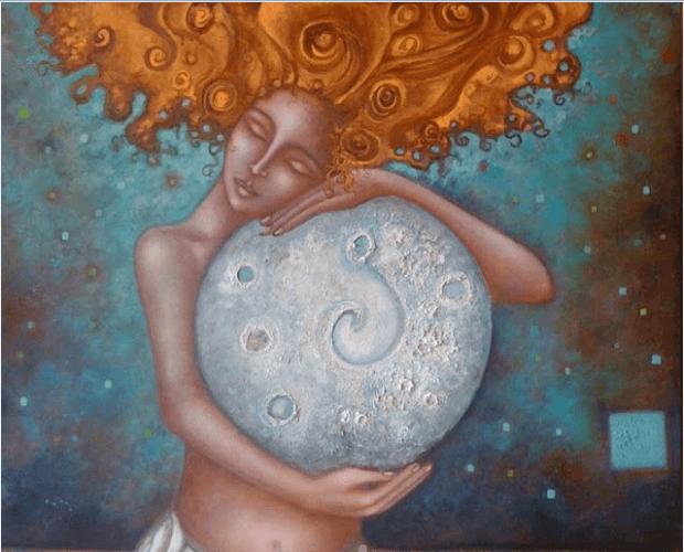 Femme et Lune : un lien qui nous aide à comprendre le cycle féminin