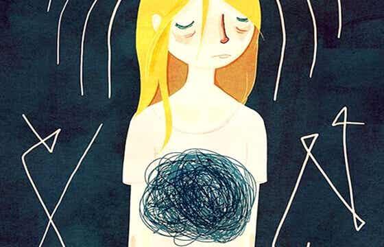 Ce nœud dans l'estomac, le trou noir de mon anxiété