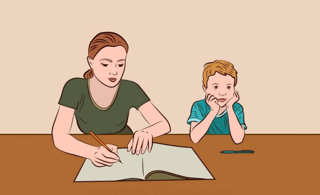 «Maman, tu m'aides à faire mes devoirs ?» : 5 conseils pour y arriver
