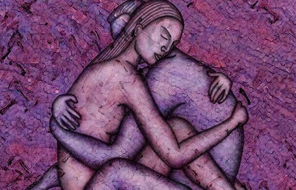 Quand tu me prends dans tes bras, la douleur disparaît et la vie reprend son cours (synchronicité interpersonnelle)