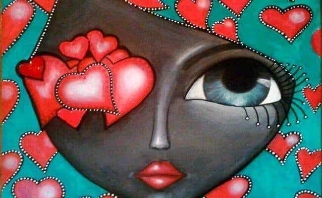 Même si vous fermez les yeux, vous ressentirez les choses avec votre coeur