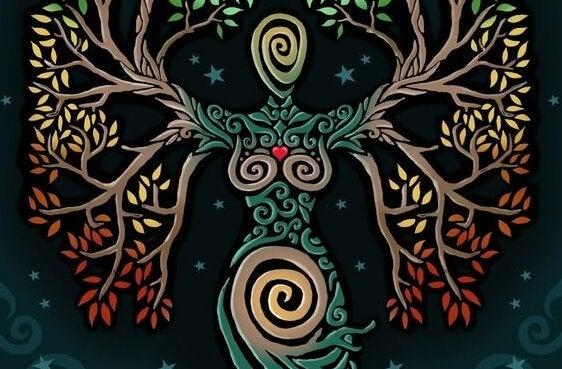 visualisation de l'arbre pour être en harmonie