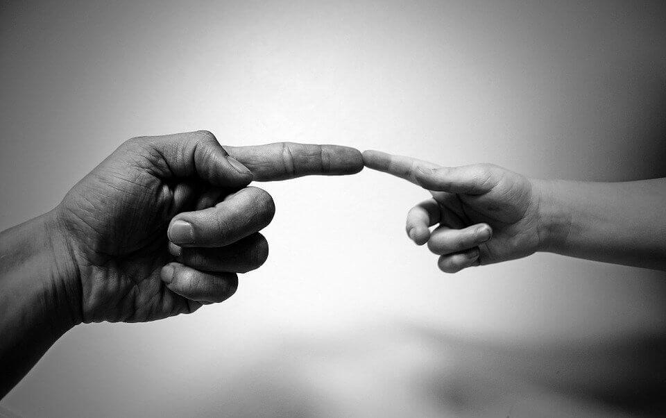 Les gestes peuvent représenter un monde