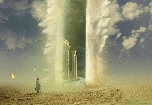 homme mort aux portes du ciel