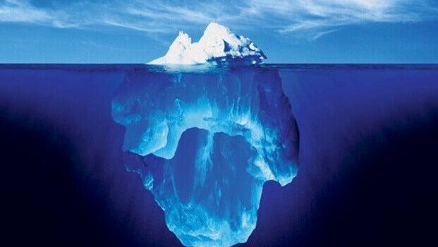 analogie de l'iceberg de Sigmund Freud