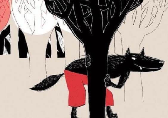 la méfiance instinctive du loup