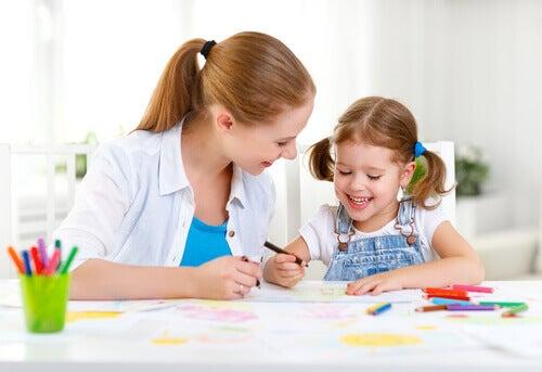 rendre les choses amusantes pour favoriser l'apprentissage des enfants