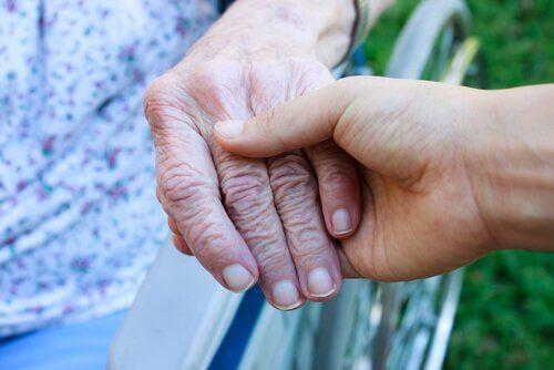 mains se tenant