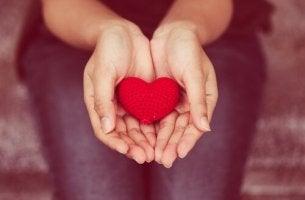 donner avec le coeur