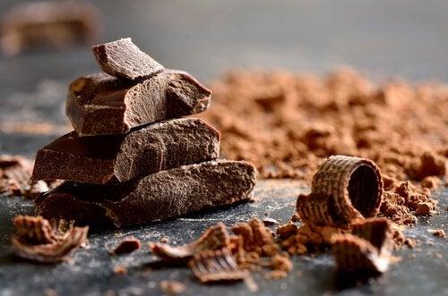 le chocolat noir pour augmenter les niveaux de mélatonine