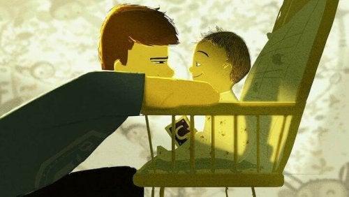 lien familial entre un père et son fils