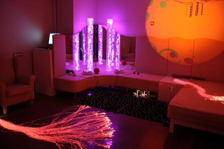Avez-vous déjà entendu parler des espaces Snoezelen de stimulation multisensorielle ?