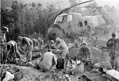 drogue et soldats