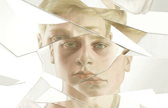 image d'homme fragmentée