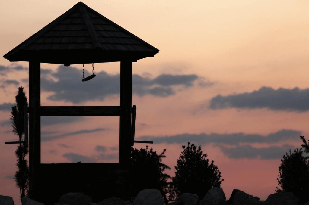payasage au crépuscule