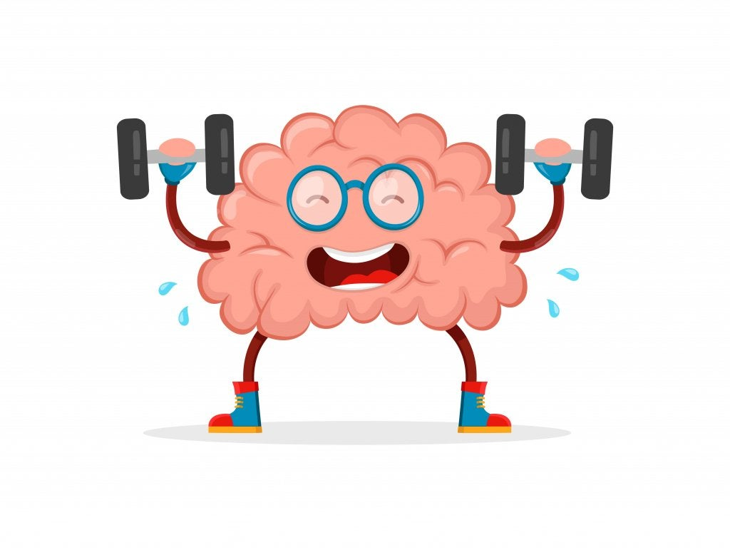 cerveau qui s'entraine