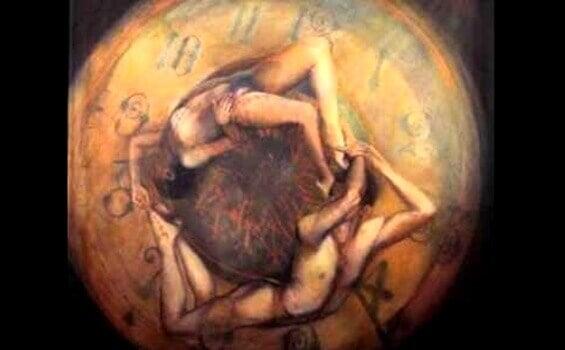 couple et horloge