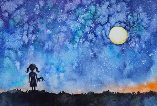 La petite fille qui regarda le ciel et découvrit son étoile
