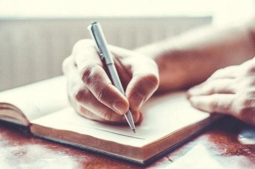 écrire pour surmonter la dépression