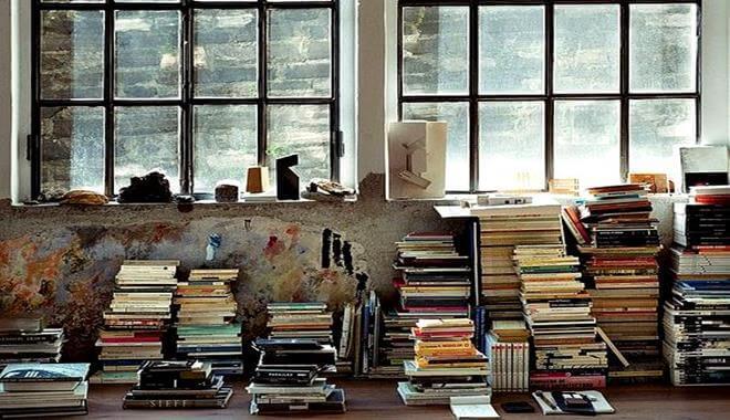 piles de livres