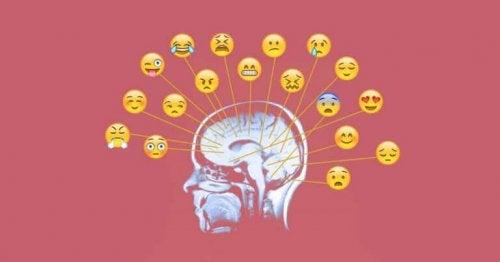 conscience émotionnelle à travers différents émoticônes