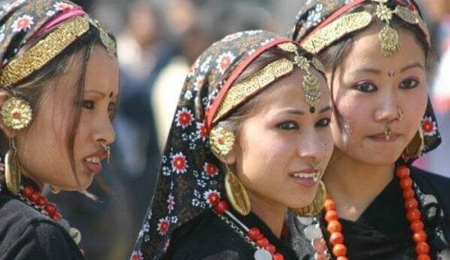 femmes au Népal